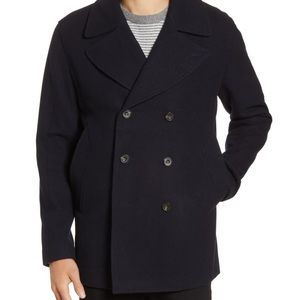 French connection double breasted peacoat